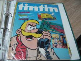 Mes Ref Tintin 1 : Le Journal De Tintin Année 1980  35ème Année Numero 39 Clifton - Tintin