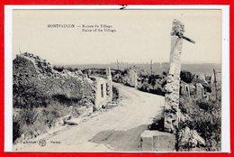 55 - MONTFAUCON --  Ruines Du Village - France