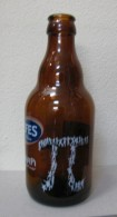 AC- EFES PILSEN BEER SPECIAL EDITION FOR KAFE PI EMPTY GLASS BOTLLE - Cerveza