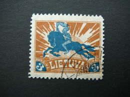 Lietuva Lithuania Litauen Lituanie Litouwen 1921 Used # Mi. 97 Horses - Lithuania