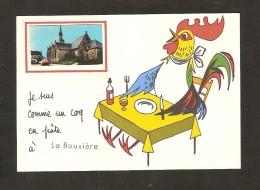 La Bouxière / Je Suis Comme Un Coq En Pâte  (église Et Voiture ) - Other Municipalities