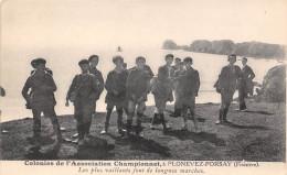 29-PLONEVEZ-PORSAY- COLONIES DE VACANCES DE L´ASSOCIATION CHAMPIONNET Les Plus Vaillants Font De Longues Marches - Plonévez-Porzay