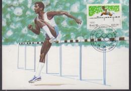 Brazil 1984 Olympic Games Los Angeles 1v  Maximum Card (31169) - Zomer 1984: Los Angeles