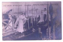 PARIS  AU BON MARCHE LEONCE DE JONCIERES L HEURE MAUVE DE VENISE - France
