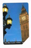 TELECOM ITALIA  - C&C F3768 - ARCHITETTURA DEL TEMPO: BIG BEN CLOCK TOWER (LONDON) - USATA - RIF. CP - Italia