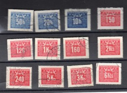 1946 Y 67- 78 - Postage Due