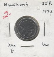 Bangladesh (1974) - 25 Poisha - Bangladesh