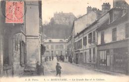 60- MONTATAIRE- LA GRANDE RUE ET LE CHÄTEAU - Montataire