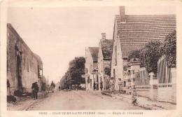 60-LIANCOURT-SAINT-PIERRE- ROUTE DE CHAUMONT - Liancourt