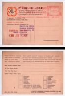 Cartolina 7°CHI-BI-CAR Salone Internazionale Chincaglieria Bigiotteria Cartoleria E Articoli Da Regalo. Milano 1971 - Non Classificati