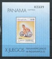 Panama**  Bloc 39 - Jeux Panaméricains - Althérophilie - Panamá