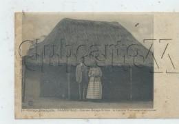 Brazzaville (Congo)  : MP Du Cuisinier  Yves Ganga Avec Son épouse Devant Leur Maison En 1910 (animé) PF. - French Congo - Other