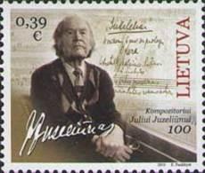 Lietuva Litauen 2016 MNH ** Mi. Nr.  1213 Birth Centenary Of Julius Juzeliunus - Lithuania