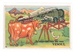 VESOUL : Carte Souvenir - Très Bon état - Vesoul