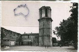 - LE LUC - Place Pasteur, Tour Hexagonale,  Petit Format, Glacée, Non écrite,  Tardy, Marseille, TBE, Scans. . - Le Luc