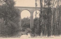 CPA Les Bords De L'Autize Le Pont Des Roches - Coulonges-sur-l'Autize