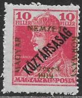 La Hongrie SZEGED TAXE Neufs Sans Charniére, No: 30, Coté 6 Euros, Y & T,  MINT NEVER HINGED, TAX, SZEGED - Szeged