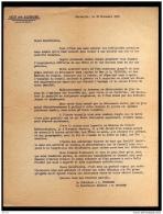 1965 TEXTE ASSOCIATION UNION DES ALLOBROGES MARSEILLE FRANCE - Vieux Papiers