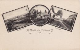 CPA Février 1916 BRIERES (Brécy-Brières Près Monthois) - Le Château, Une Rue (A151, Ww1, Wk 1) - Unclassified