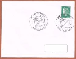 10 ème Anniversaire C.N.E.S. -  23.9.1972 Toulouse - Telecom