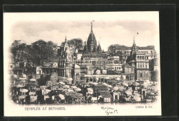 CPA Benares, Temples - Inde
