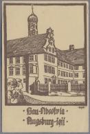 Augsburg Bauabsolvia   Absolvia Studentika 1911y.  C806 - Augsburg