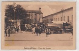 Cisterna Di Roma-piazza Del Mercato  -veduta-1900 - Latina