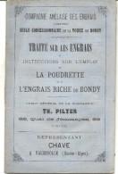 TRAITE SUR LES ENGRAIS . CHAVE . VALENSOLLE - Catalogues