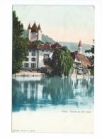 Thun Partie An Der Aare 1908 - BE Berne