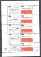 Poland 1998 - Europa - CEPT - Sheet Mi 3714-3715 - MNH (**) - Postfrisch - Blocs & Hojas