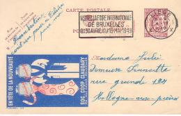 Publibel 795 M Liège - Entiers Postaux