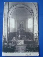 SILLY : Vue Intérieure De L,'église - Le Choeur En 1904 - Silly