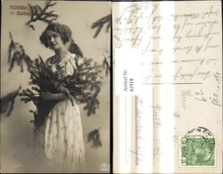 61918,Weihnachten Frau M. Tannenzweige - Non Classificati