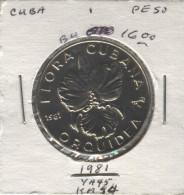 Cuba (1981) - 1 Peso - Kuba