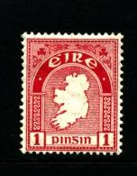 IRELAND/EIRE - 1923  1d.  MAP  SE WMK MINT  SG 72 - 1922-37 Stato Libero D'Irlanda