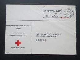 Geneve 1945 Comite International De La Croix Rouge / Rotes Kreuz!! Agence Centrale Des Prisonniers De Guerre. Inter Arma - Briefe U. Dokumente