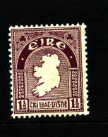 IRELAND/EIRE - 1923  1 1/2 D.  MAP  SE WMK  MINT  SG 73 - 1922-37 Stato Libero D'Irlanda