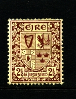IRELAND/EIRE - 1923  2 1/2 D.  ARMS  SE WMK  MINT  SG 75 - 1922-37 Stato Libero D'Irlanda