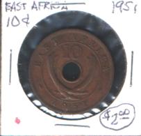 East Africa (1951) - 10 C - British Colony