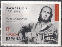 España 2014 Yvert 4583 Neuf ** Cote (2015) 3.20 Euro Europa CEPT Paco De Lucia Guitare Espagnole - 1931-Aujourd'hui: II. République - ....Juan Carlos I