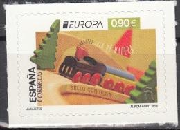 España 2015 Europa CEPT Jouets Train En Bois Neuf ** - 1931-Aujourd'hui: II. République - ....Juan Carlos I