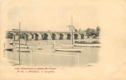78 POISSY. Le Pont Vues Réseau De L'Ouest - Poissy