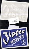 230875,Reklame Werbung Bier Zipfer Märzen - Publicité