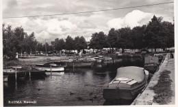 RP: RAUMA , Kanaali , Finland , PU-1955 - Finland