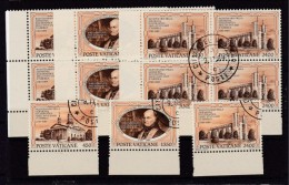 1989 Vaticano Vatican GERARCHIA ECCLESIASTICA  ECCLESIASTICAL HIERARCHY 5 Serie Di 3v. USED FDC - Used Stamps
