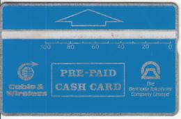 BERMUDA ISL. - Blue Generic 100 Units, Tirage 5000, CN : 004D, Used