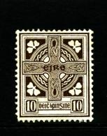 IRELAND/EIRE - 1923  10d.  CROSS  SE WMK  MINT SG 81 - 1922-37 Stato Libero D'Irlanda