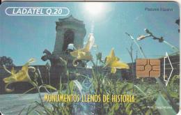 GUATEMALA - Plazuela Espana, Chip GEM3.3, Used - Guatemala