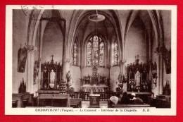 88. Godoncourt. Le Couvent (1843). Intérieur De La Chapelle. 1937 - France