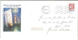 PAP REPIQUE - FETE DU LIVRE MOULINS 2001  ALLIER - Entiers Postaux